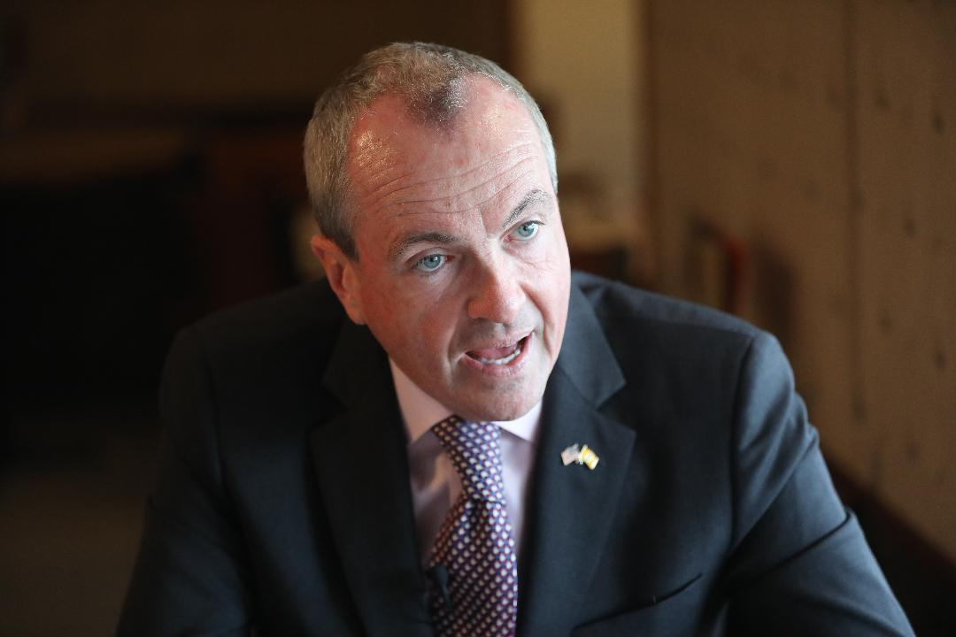 Democratic gubernatorial candidate, Phil Murphy sits down with Charlie Stile and Dustin Racioppi of The Record and NorthJersey.com at the Princetonian Diner. Tuesday, May 23, 2017