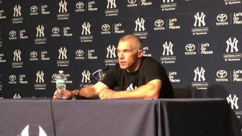 Video: Girardi on Judge's 2 HR night