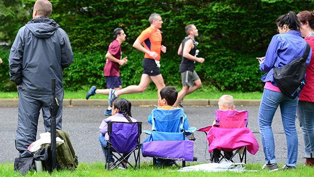 The rain did not stop the runners in the Ridgewood Run on Memorial Day.