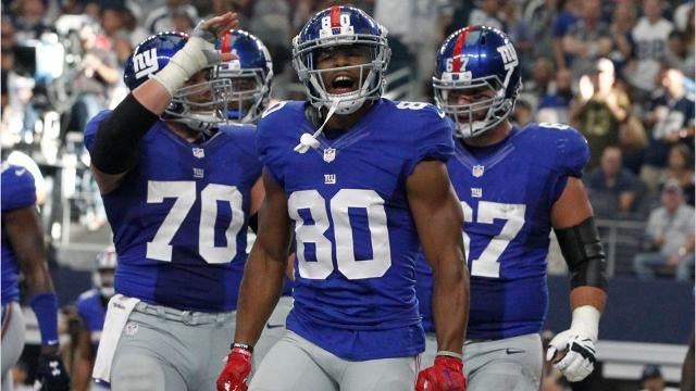 As the Paterson native begins his next NFL chapter, here are some of his memorable times with Big Blue.