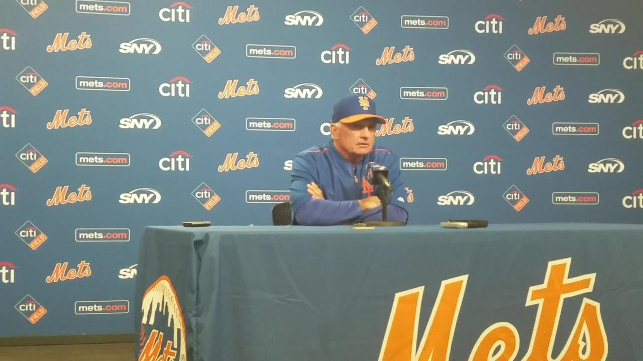 Terry Collins discusses how he will become the Mets' all-time leader in games managed Saturday.