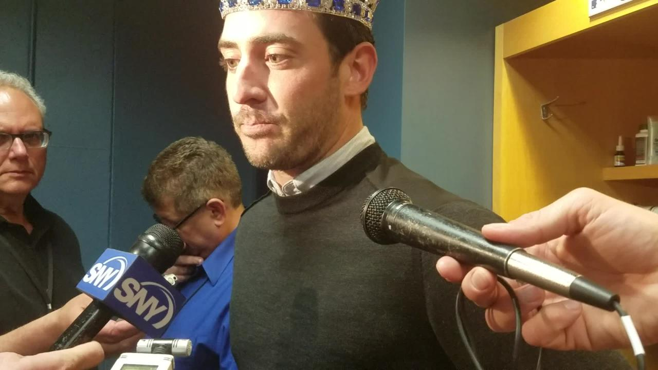 Matt Harvey discusses the 7-2 win over Pittsburgh