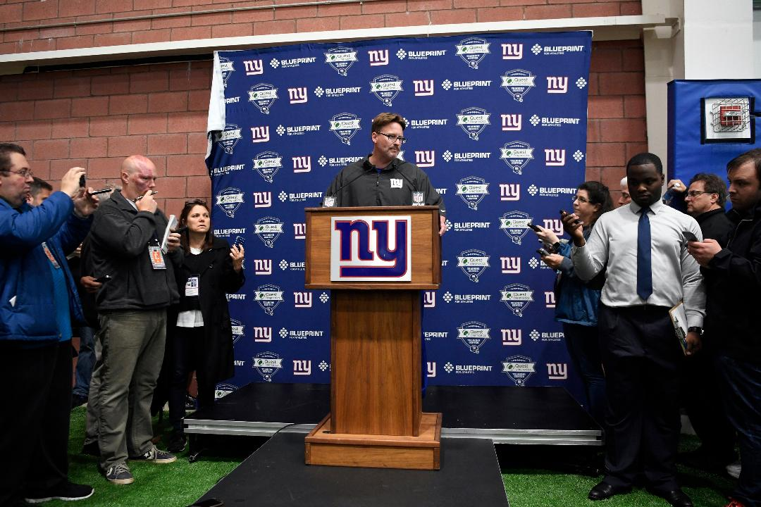 New York Giants head coach Ben McAdoo answers questions regarding wide receiver Odell Beckham Jr.'s absence from the first week of OTA's.