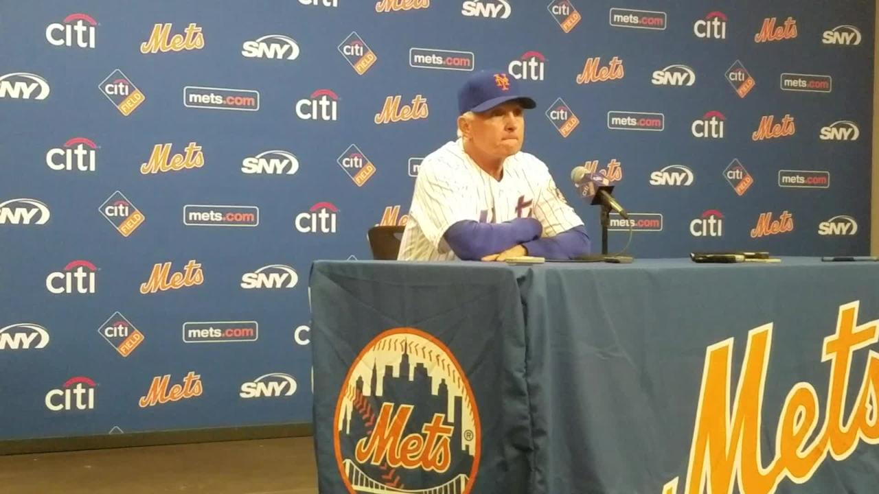 Terry Collins discusses becoming the Mets all-time leader in games managed.