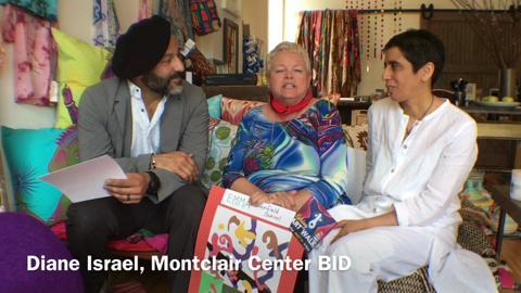 Montclair Center Business Improvement District directors preview Matisse Week events in Montclair.