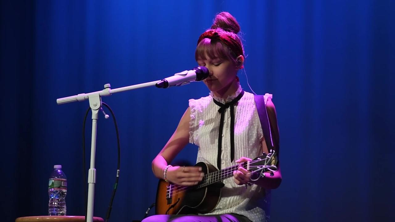 America's Got Talent Season 11 winner Grace Vanderwaal performs at Ramapo High School in Franklin Lakes, NJ on Sunday, May 21, 2017. All proceeds from ticket sales went towards the Valley Hospital Auxiliary to fund hospital programs.