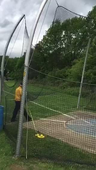 Saddle Brook senior Giovanni Gutierrez set the North 1, Group 1 discus record with a throw of 187 feet, 8 inches on Saturday. The throw ranks fourth all-time in Bergen County history. Watch his throw in slow-motion.