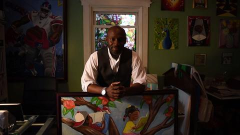 Paterson artist and teacher Chris Fabor Muhammad has a passion for painting and education.