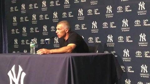 Yankees manager Joe Girardi talks about the argument that ended the game against the Royals on Tuesday night.