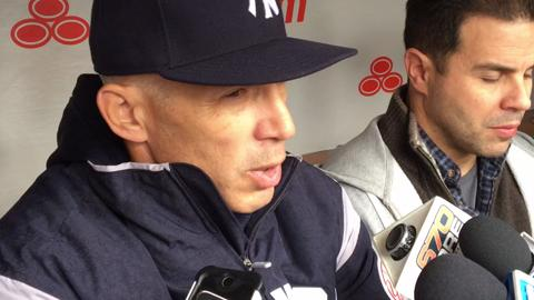 Video: Girardi talks about visiting Wrigley Field