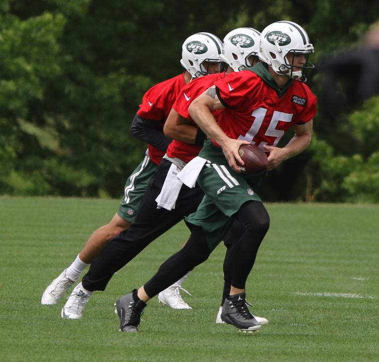 Josh McCown discusses his approach during OTA's.