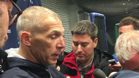 Video: Joe Girardi discusses win at Wrigley