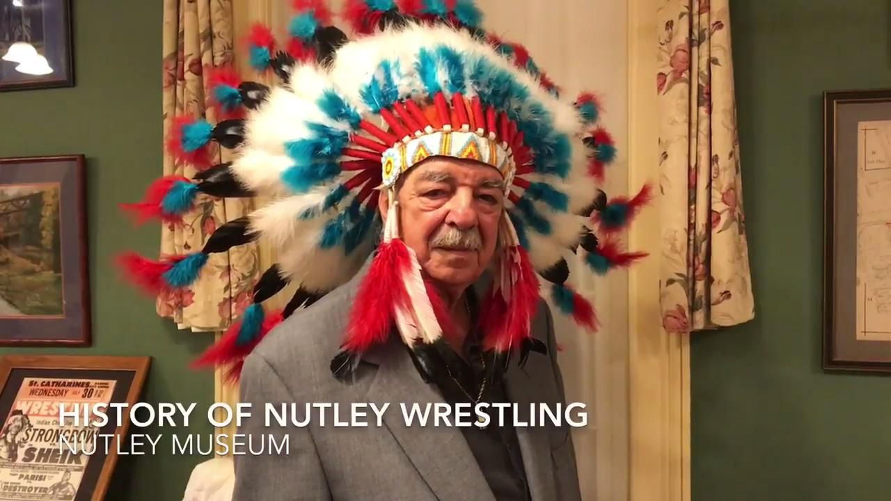 The late Luke Scarpa, of Nutley, took on the character of Chief Jay Strongbow in professional wrestling.