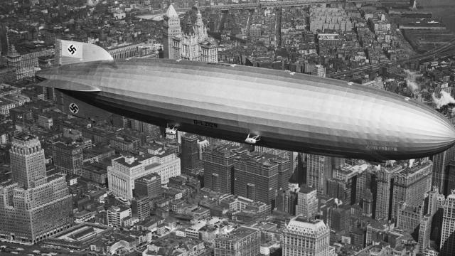 Airships were going to be the future. Then -- 80 years ago -- the airship Hindenburg burst into flames over Lakehurst, New Jersey, killing 36 people.