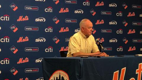 Sandy Alderson discusses the current state of the Mets.