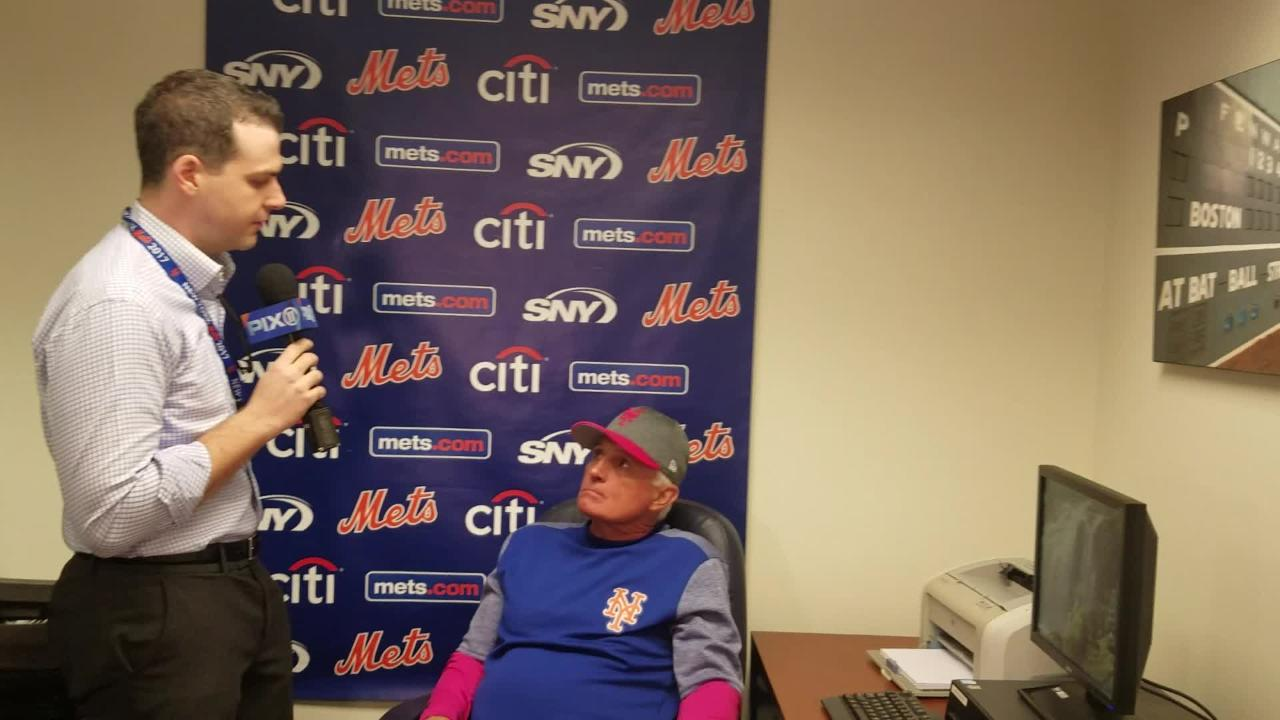 Video: Collins on Cabrera, deGrom