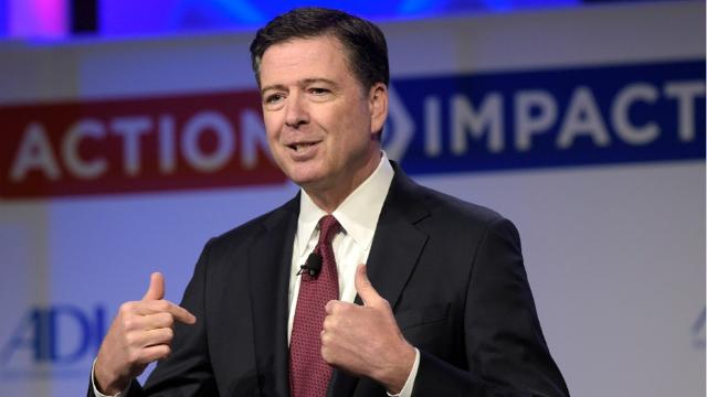 Fomer FBI Director James Comey grew up in Allendale and still has ties to the community.