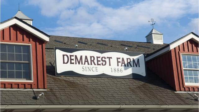 Demarest Farms' fall parking plan includes street parking for its customers. Residents who live in the vicinity of the farm say that street parking for the farm's growing customer base is not safe.