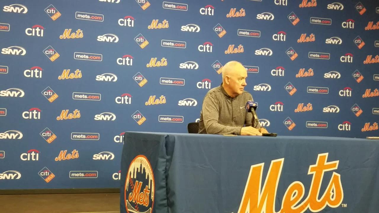 Mets general manager Sandy Alderson discusses pitchers Steven Matz and Seth Lugo.