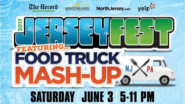 A preview of some of the food truck vendors that will be participating in the 2017 Jerseyfest Food Truck Mash-Up at the Meadowlands Racetrack on June 3.