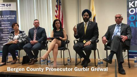 Video: Bergen County officials speak at opioid abuse town hall