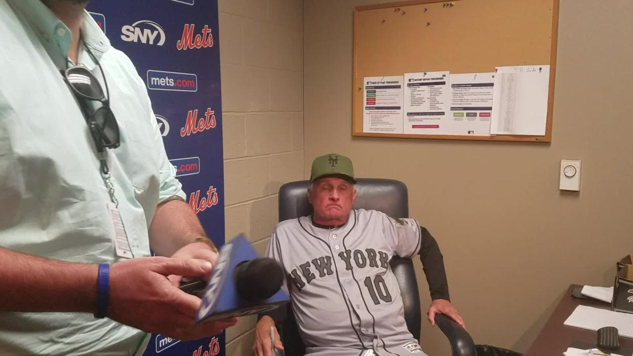 Terry Collins discusses the 5-4 loss to Pittsburgh