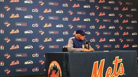 Mets manager Terry Collins talks about the decision to push back Jacob deGrom's start.