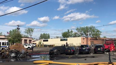Video: Carlstadt plane crash aftermath