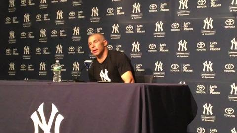 Yankees manager Joe Girardi talks about Jacoby Ellsbury.