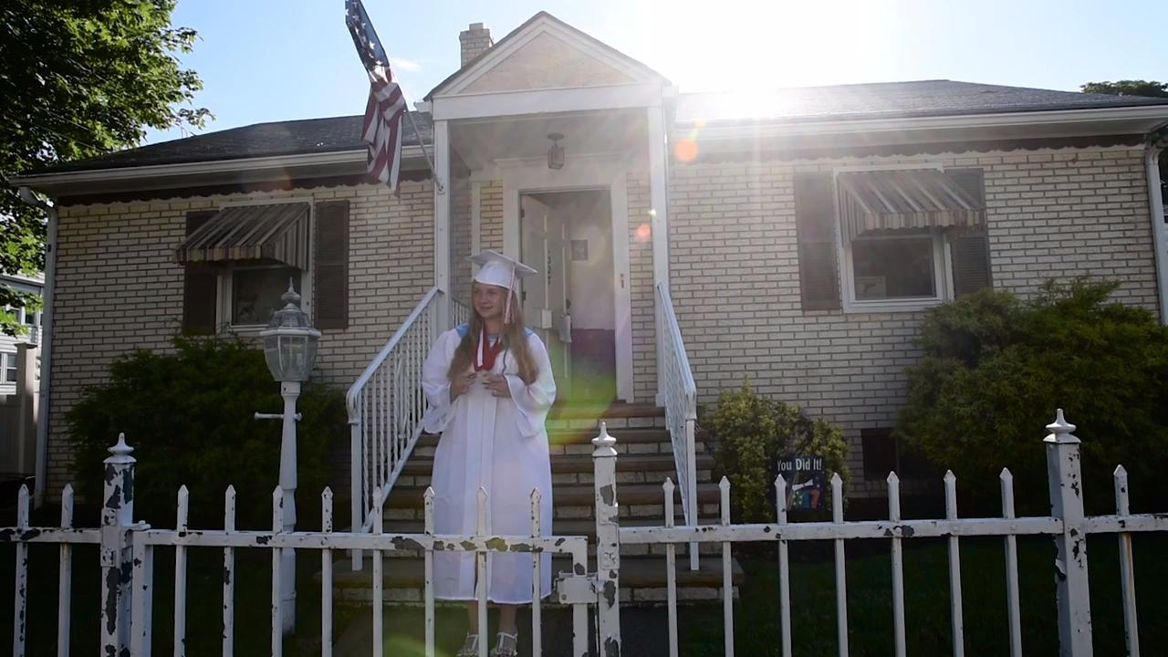 Video: There's no stopping valedictorian Tara Mott