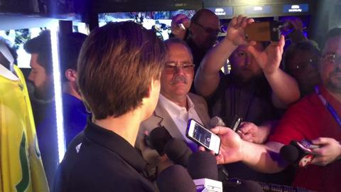 Video: Nico Hischier on upcoming NHL Draft