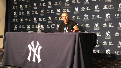 Video: Girardi on Judge and the Yankees' 14-3 win