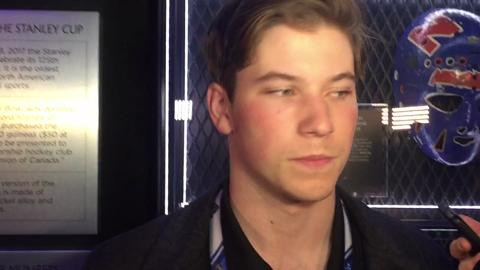 Video: Nolan Patrick on upcoming NHL Draft