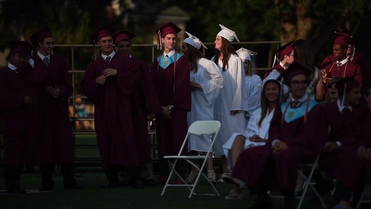 Nutley High School graduation exercises on Thursday, June 22, 2017.