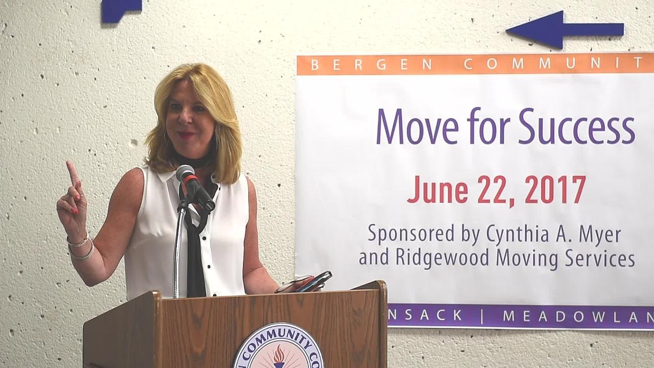 "Bergen Community College has set up a ""career closet,"" where students are provided with free professional and formal clothing that is donated by area residents sponsored by Cynthia A. Myer and Ridgewood Moving Services."