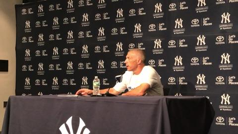 Video: Girardi on the dangers of head-first slides