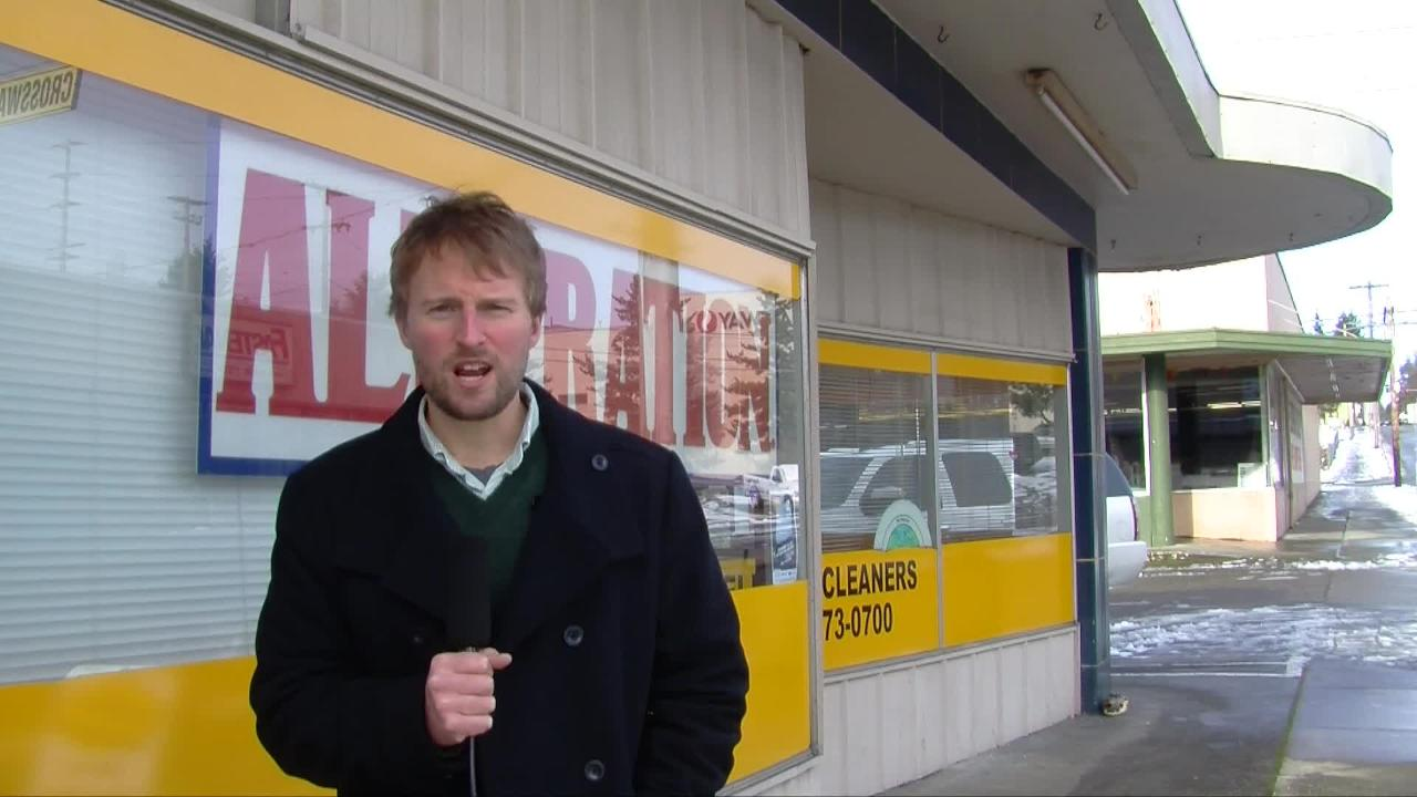 Reporter Josh Farley chronicles the end of an era at Eldon's Cleaners, the snow storm that hit Kitsap Monday and interviews Bremerton City Councilwoman Leslie Daugs about her recent arrest in Washington D.C.