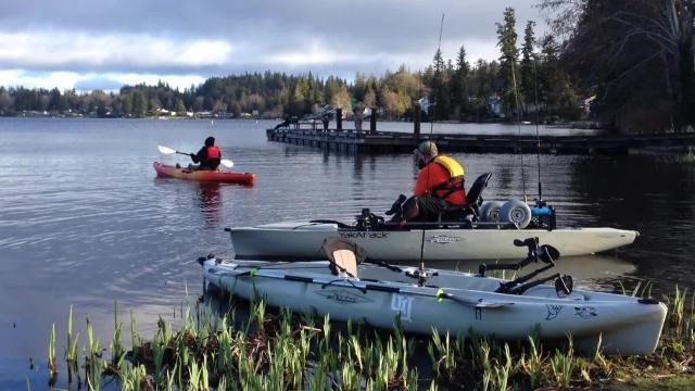 Nonprofit group introduces veterans to kayak fishing.