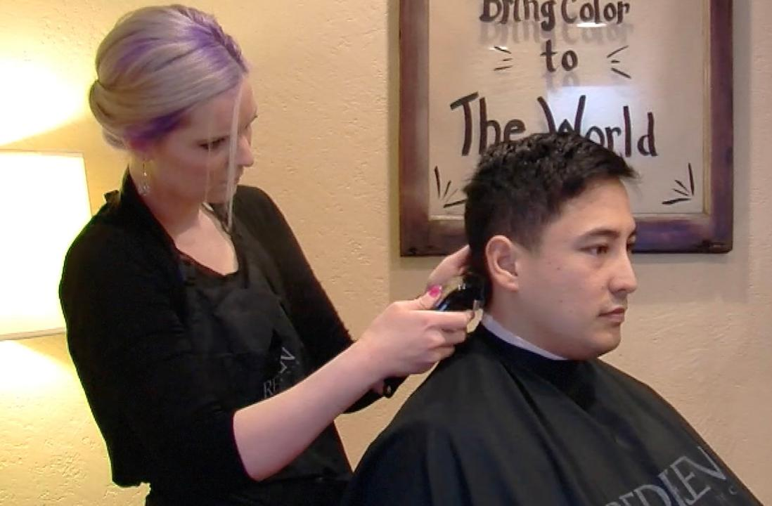 Stylists raise funds for veterans in need