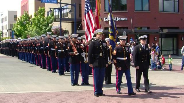 The 69th annual Armed Forces Day Parade was May 20 in Bremerton.