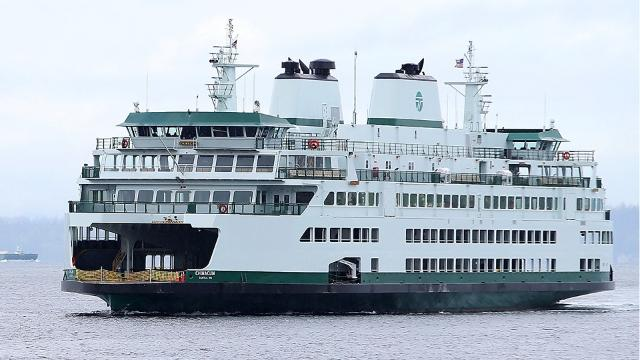 WSF's newest Washington State Ferry prepares to ply the Bremerton-Seattle route.