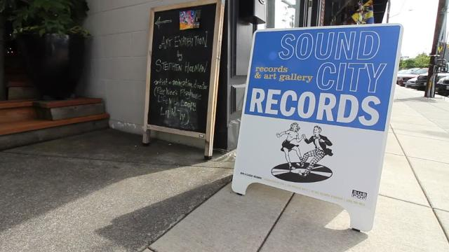 Islander Erik Clineschmidt opened the Winslow shop as part of his lifelong love for music.