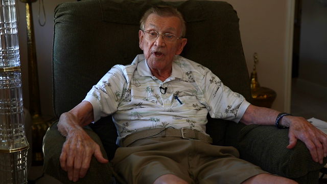 Tom Whalley recalls his service in U.S. Navy