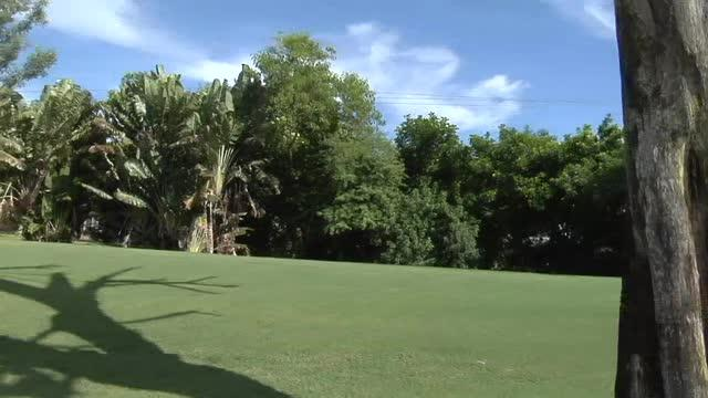 In this Sept. 14, 2016 video, the Naples Beach Hotel & Golf Club put the final touches on its renovated course redesigned by John Sanford with Jack Nicklaus as a consultant.