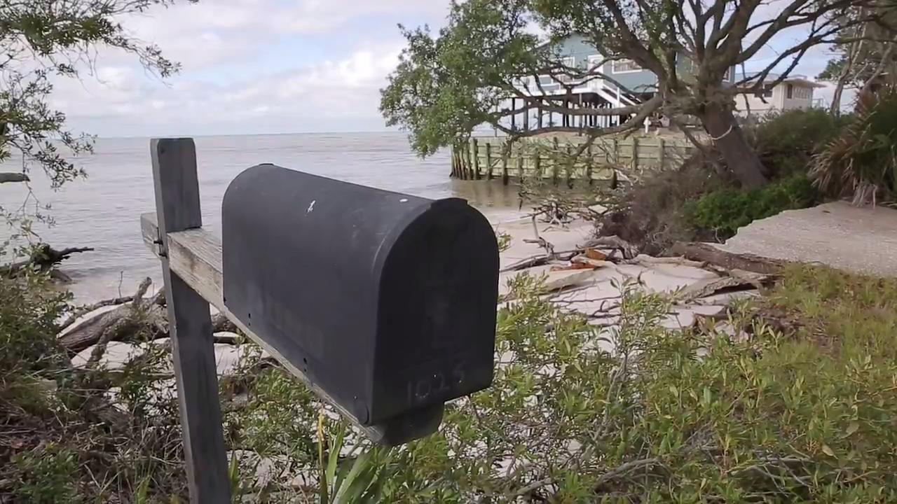 Alligator Point resident watched his property erode away