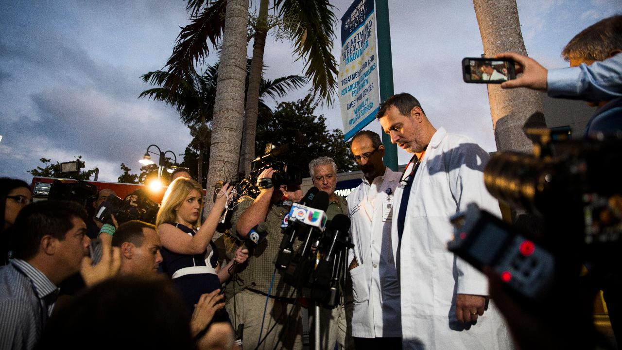 Trauma surgeon gives update on patients in Fort Lauderdale airport shooting