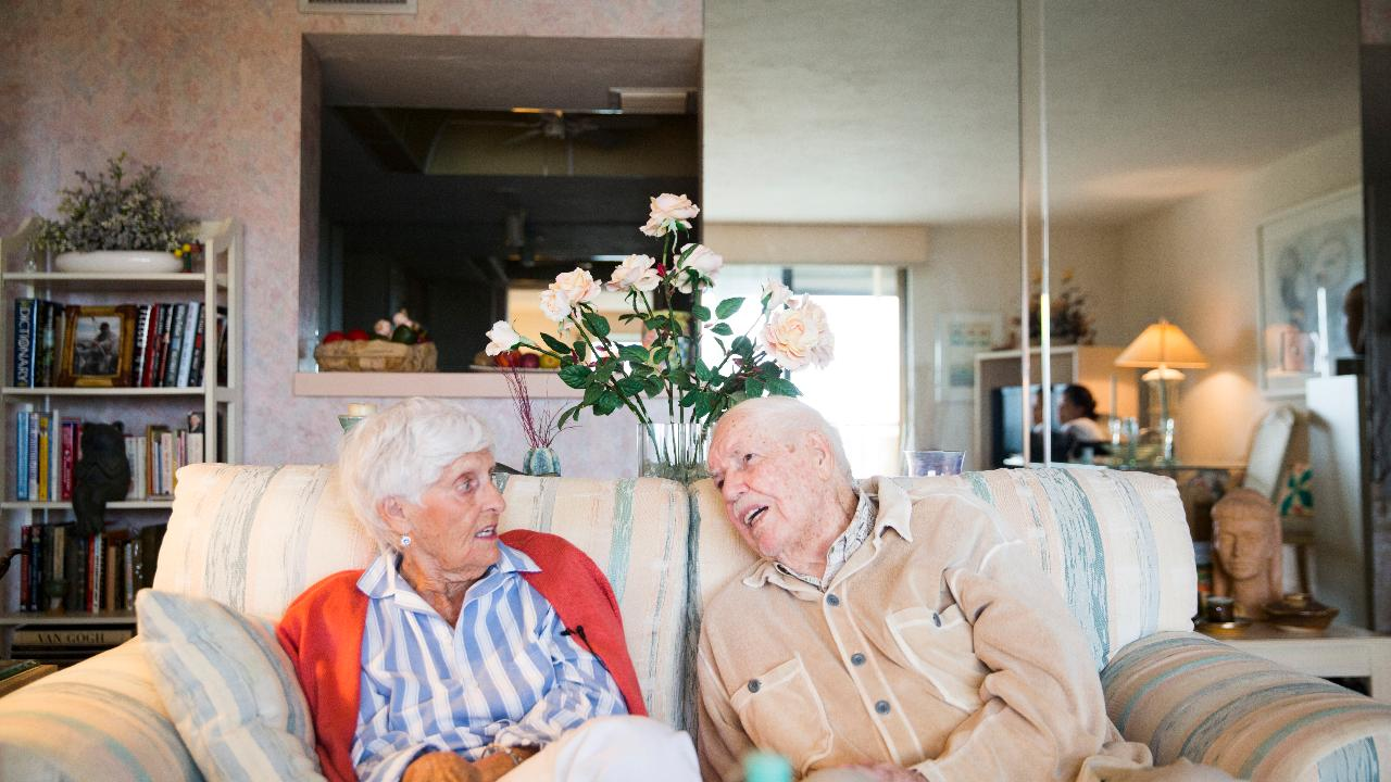Couple remembers 70 years together