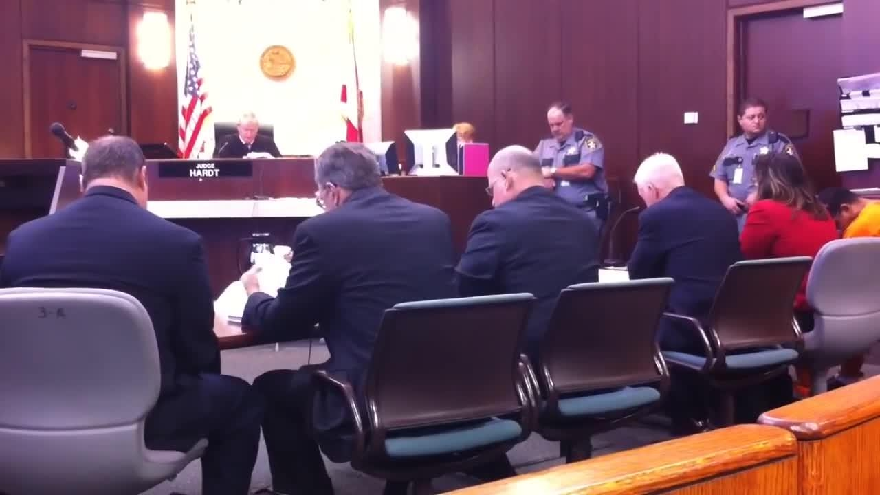 2015: Mesac Damas appears in Collier Court