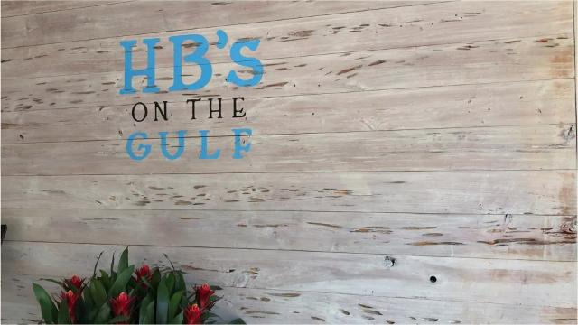 Watch the sunset at HB's on the Gulf