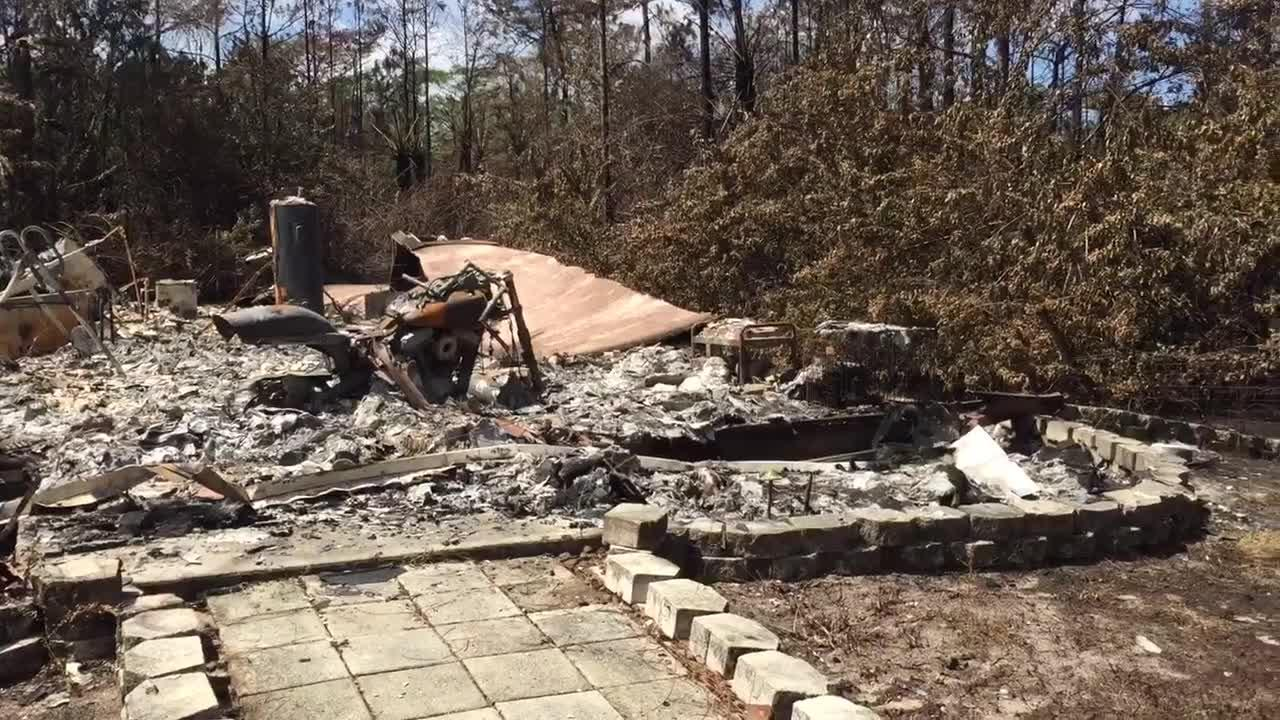 Rotondo family home destroyed in brush fire